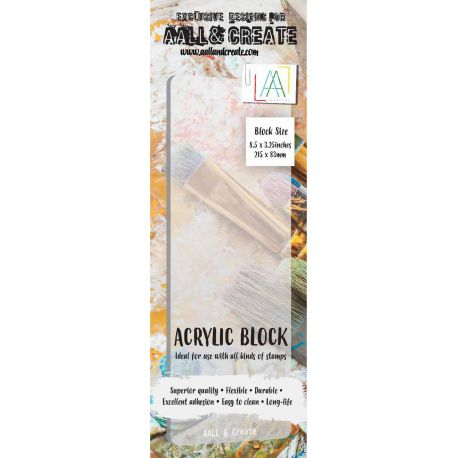 AALL and Create Border  Acrylic Block