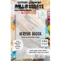 AALL and Create A5 Acrylic Block