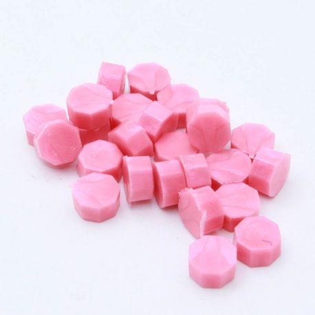 Beads of wax - Bubblegum nacré - DIY and Cie