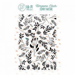 Clear stamp Fond champêtre  - HA PI Little Fox