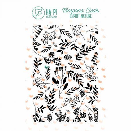 Tampon clear Fond champêtre - HA PI Little Fox