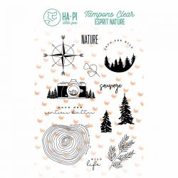 Clear stamps Nature sauvage - HA PI Little Fox