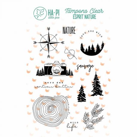 Tampons clear Nature sauvage - HA PI Little Fox