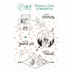 Clear stamps Hapi au grand air - HA PI Little Fox