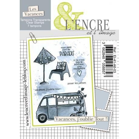 Clear Stamp - It's Travel Time - L'Encre et l'Image