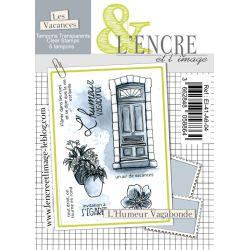 Clear Stamp - Stroll the City - L'Encre et l'Image