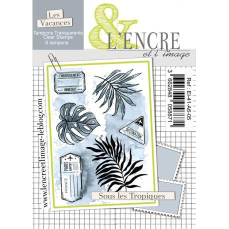 Clear Stamp - Tropical Mood - L'Encre et l'Image