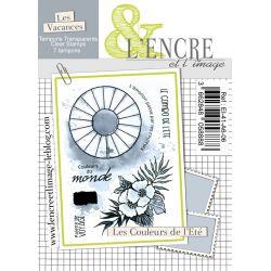 Clear Stamp - Summer Color Palette - L'Encre et l'Image