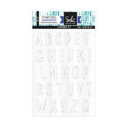 Clear stamps Voilà l'été-Alphabet 1 - SOKAI