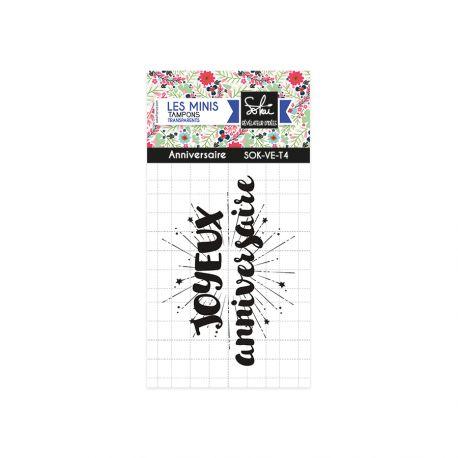 Clear stamps Voilà l'été-Anniversaire - SOKAI