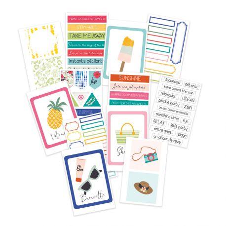 Voilà l'été - SOKAI - Planner labels