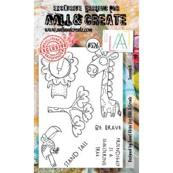 AALL and Create Stamp Set -526