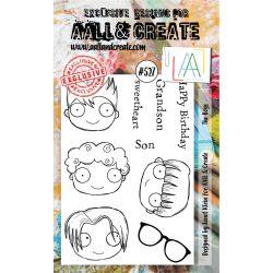 AALL and Create Stamp Set -527