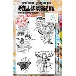 AALL and Create Stamp Set -532