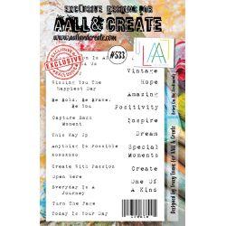 AALL and Create Stamp Set -533