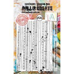 AALL and Create Stamp Set -543
