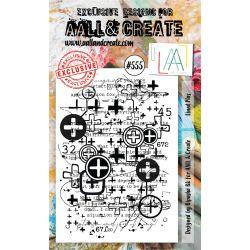 AALL and Create Stamp Set -555