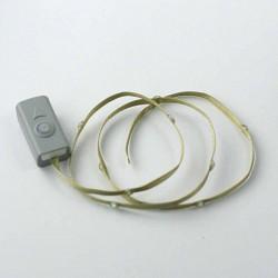 Ruban avec LED Olive/lime