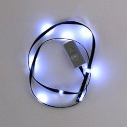 Ruban avec LED black/white