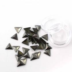 Étoiles argent métallisé