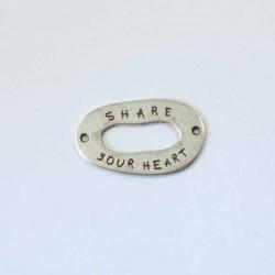 Breloque Share your heart