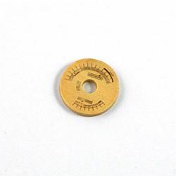 Rondelle de bois imprimée posemètre