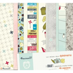 collection 6 feuilles +2 cardstock assortis