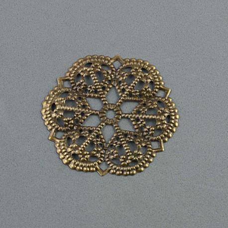 Rosace bronze 5cm