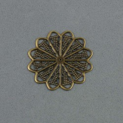Rosace bronze 3 cm
