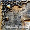 Coin bronze baroque (GM)