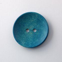 Big bouton en bois bleu