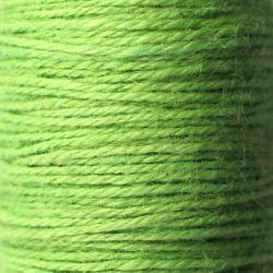 Ficelle de jute vert anis bobine 65m