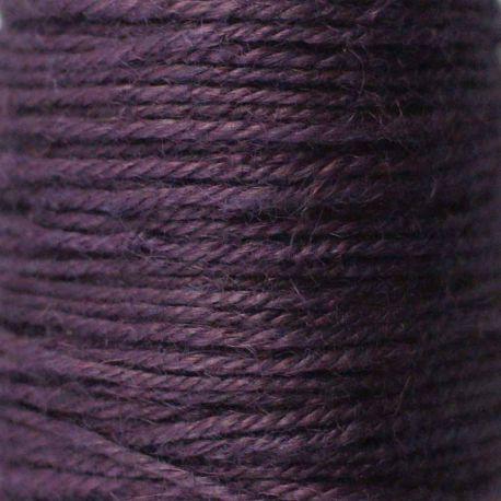 Ficelle de jute violet bobine 70m