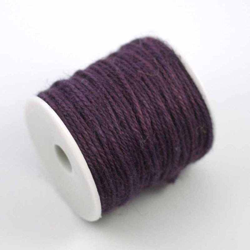 ficelle de jute violet bobine 70m ph m ria. Black Bedroom Furniture Sets. Home Design Ideas