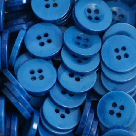 Boutons bleu moyen