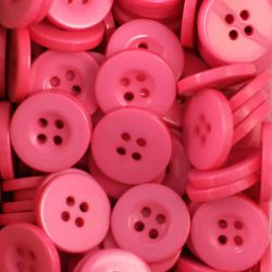 Boutons rose vif