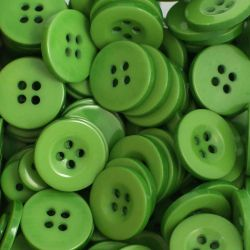 Boutons vert vif