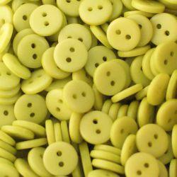 Boutons vert anis