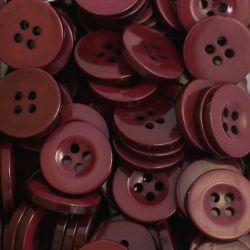 Boutons rouge bordeaux