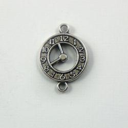 Breloque montre deux anneaux (évidée)