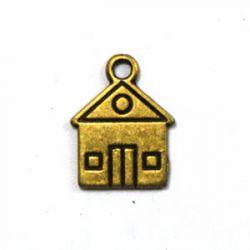 Breloque Maison bronze