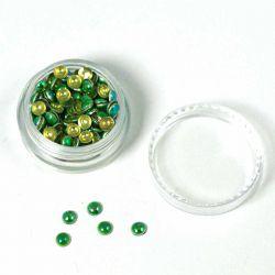 Pastilles irisées vertes