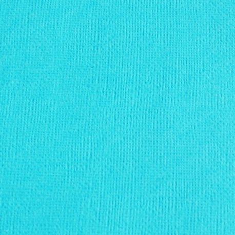 Cardstock bleu turquoise 12X12