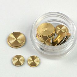 Pastilles rondes spiralées or