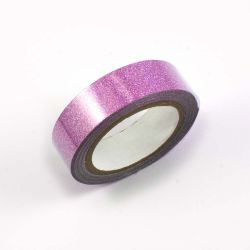 Masking tape paillete rose