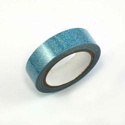 Masking tape paillete turquoise