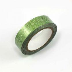 Masking tape paillete vert