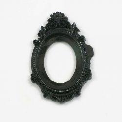 Grand cadre baroque noir