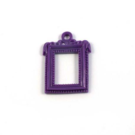 cadre rectangulaire baroque violet ph m ria scrapbooking. Black Bedroom Furniture Sets. Home Design Ideas