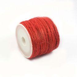 Ficelle de jute rouge (10M)